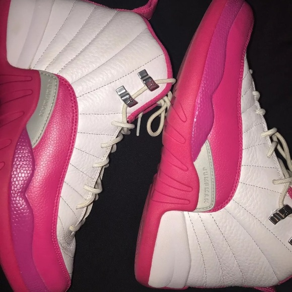 best sneakers f3a03 049bb Retro Dynamic Pink Jordan 12s